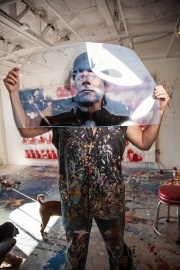 John Bell in his studio, Darryl Dobson Photography