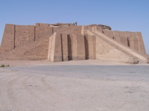 Ruins of the Great Ziggurat of King Ur-Nammu, image taken from the Ancient Encyclopedia of History, http://www.ancient.eu.com/image/197/