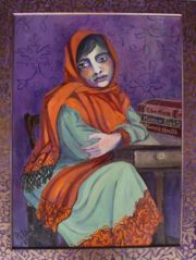 PILAR POBIL, Portrait of Malala,  Inquire About Purchase