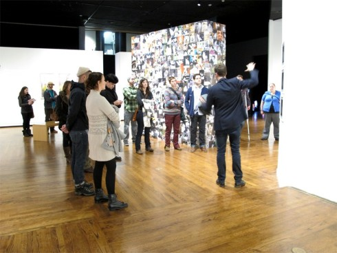 Image of curatorial walk-throughs.  Taken from Salt Lake Tribune.  Refer to: http://entertainment.sltrib.com/events/view/umoca_curatorial_walkthroughs