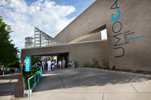 Photo of the entrance to UMOCA.  Taken from Salt Lake Magazine.  Refer to: http://www.saltlakemagazine.com/galleries/umoca-white-party/