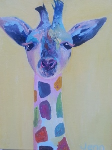 JENNIFER SEELEY, Steve the Baby Rainbow Giraffe