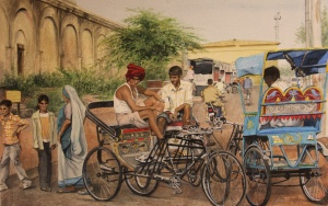 TAMARA BURNSIDE, A Day in Jaipur