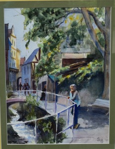 Dianne Siegfried, A Traveler's Musing